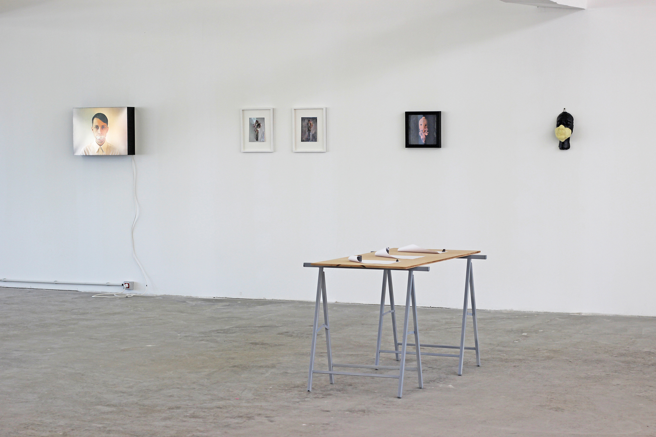 Alex Mirutziu - installation shot, 2015