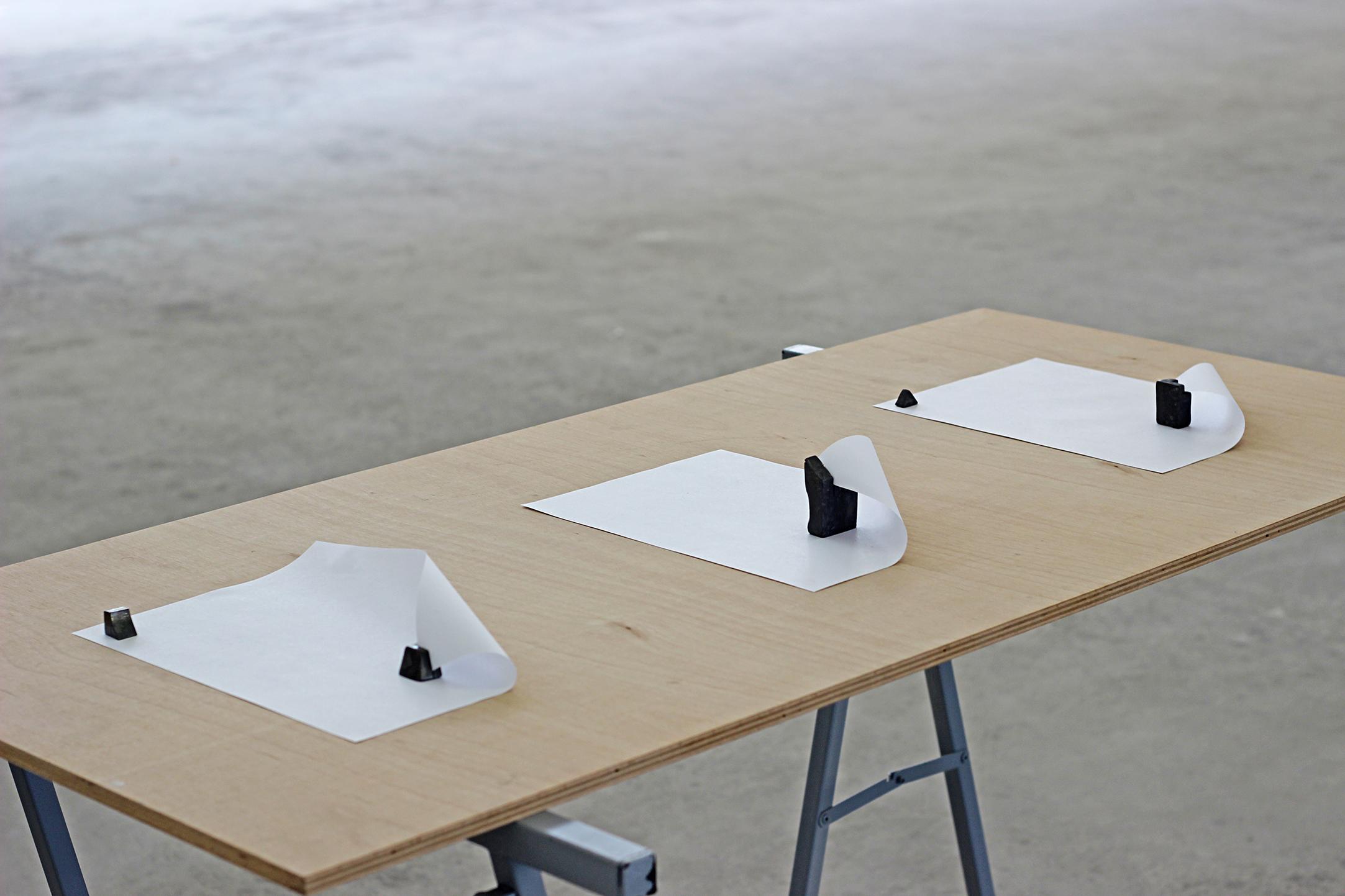 Alex Mirutziu -installation shot, 2015