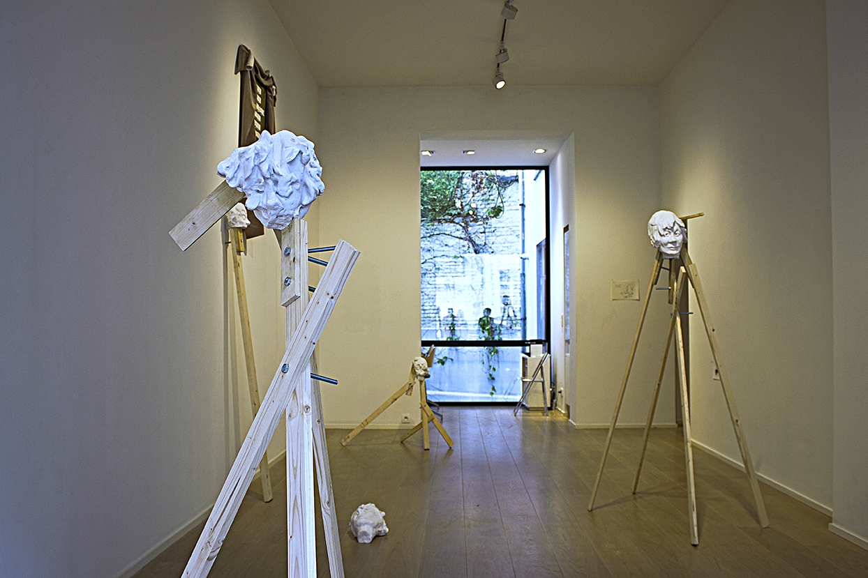 Installation shot from THIS, LIKE... Marie-Laure Fleisch Gallery