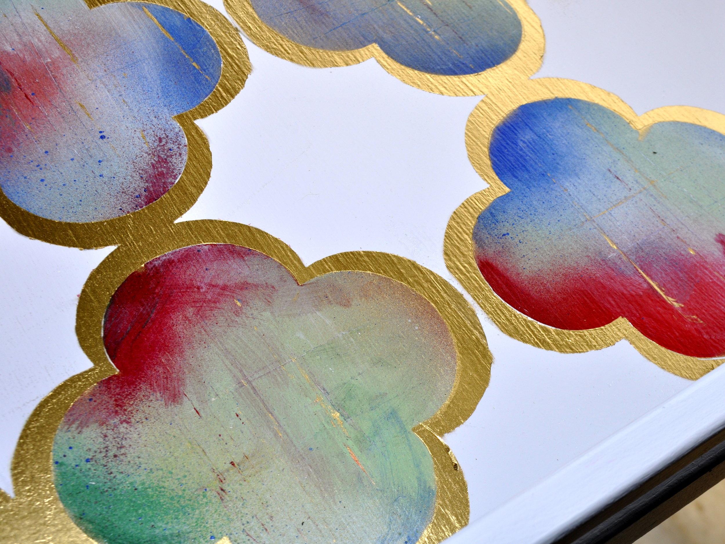 Multi-Colored Quatrefoil