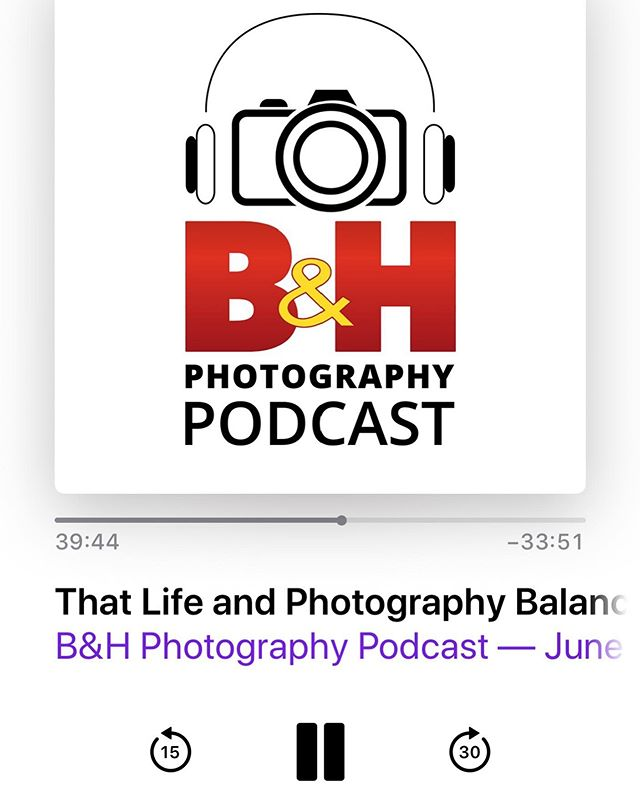 I did a podcast! (Min 39.44) Click the link in my bio to hear me speak with B&H about  #ScandinavianAmerican at #Optic2019 #bhphotopodcast @bhphoto @jrockfoto @allanweitz