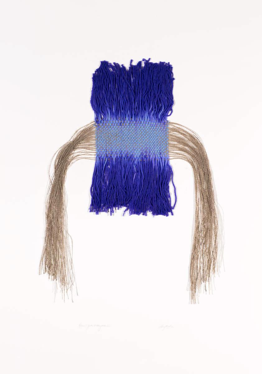 Vertical Merino Weaving, 2013