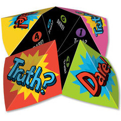 Truth or Dare Cootie Catcher