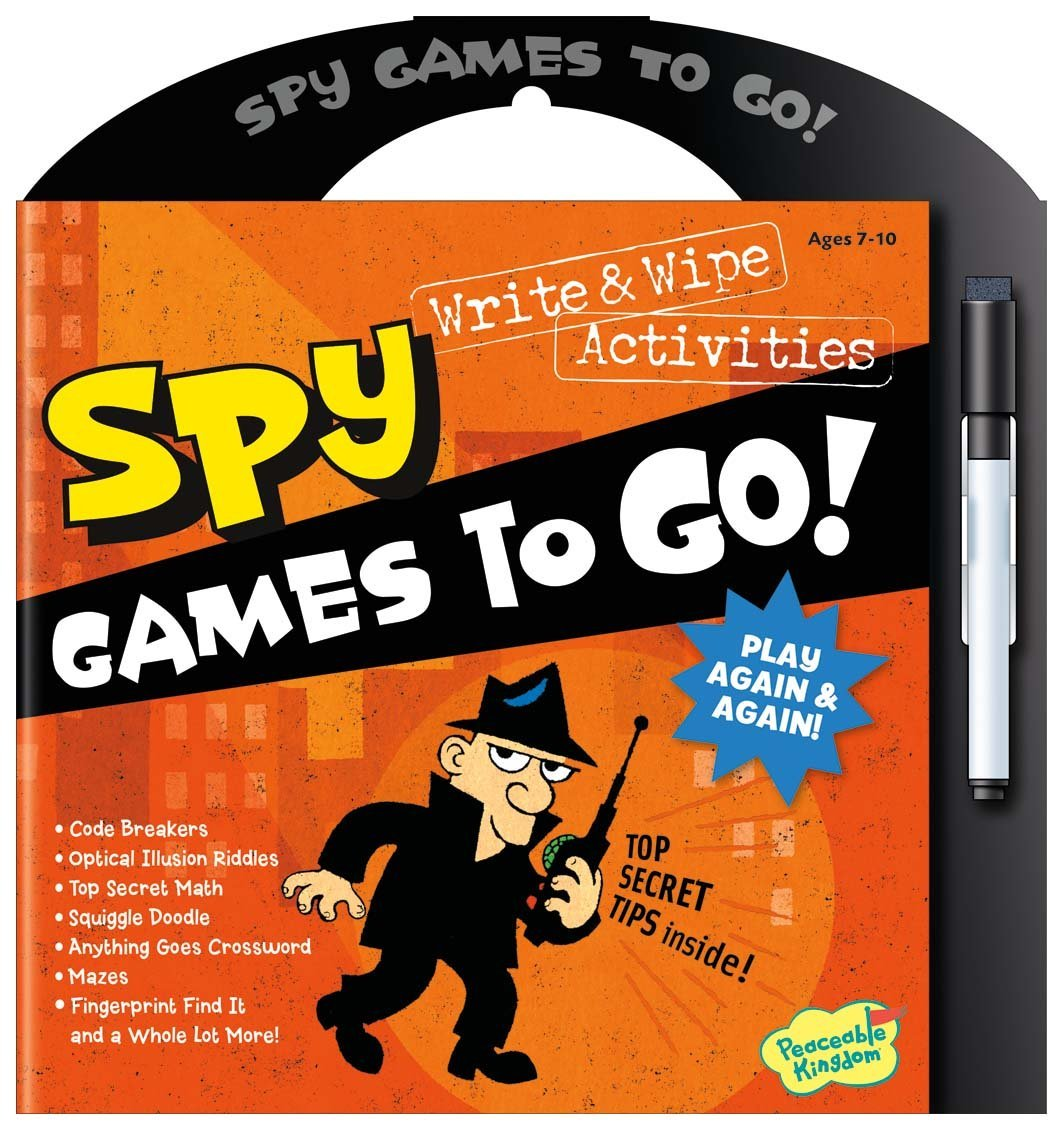 Spy Games To Go!