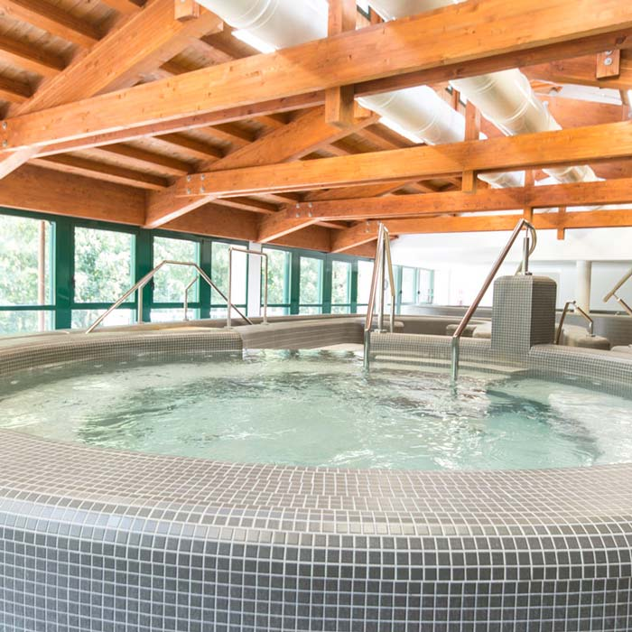 Restauro del centro termale di Pejo - nuova piscina in EPS - vasca inpolistirene espanso