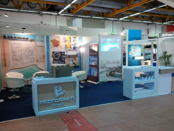Preformati Italia at Piscine-Expo