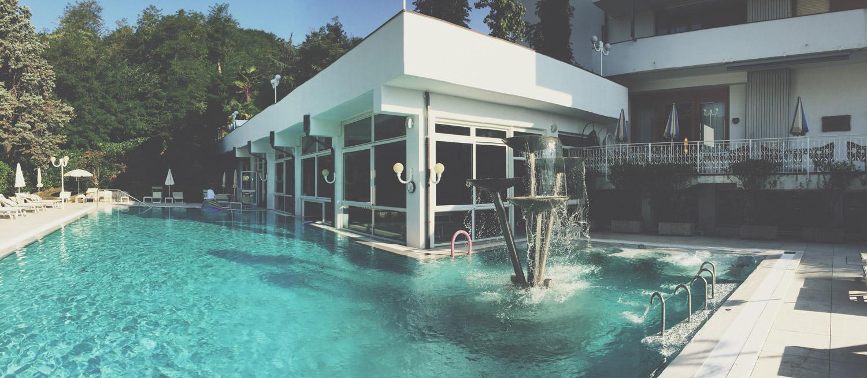 Hotel MillePini - Piscina realizzata da Preformati Italia