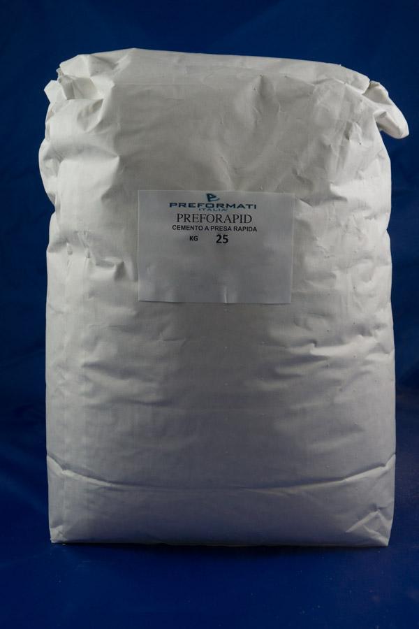 Preforapid - cemento a presa rapida