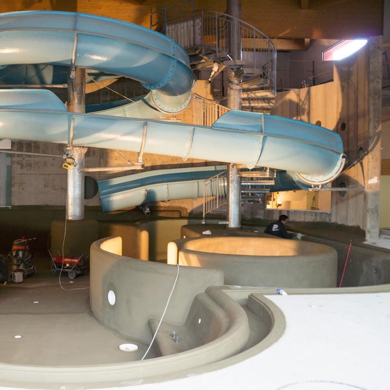 Montaggio e assemblaggio centri benessere, piscine, vasche idromassaggio, bagni turchi