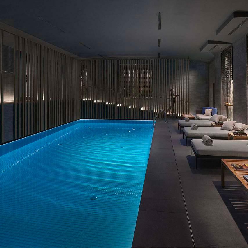 Piscina Klimapool Mandarin Hotel Milan