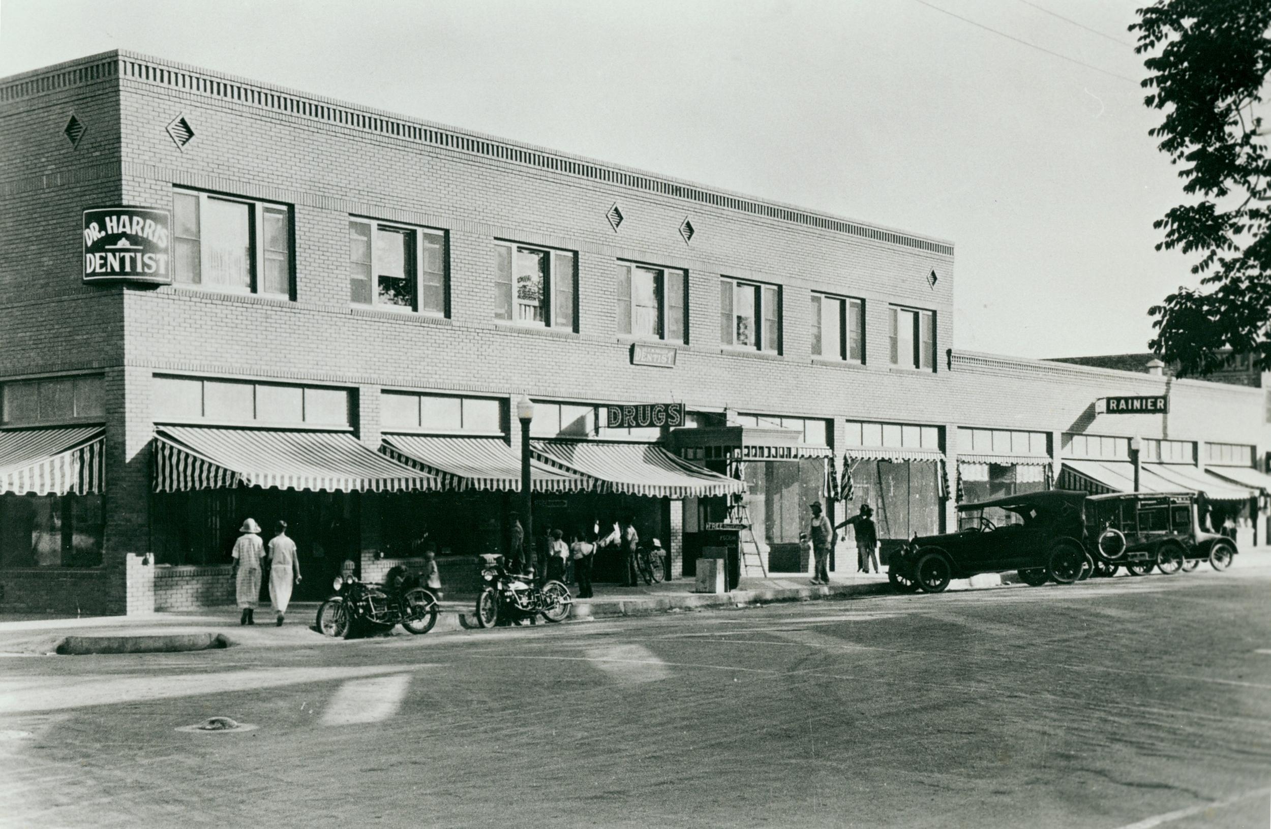 Forlow Building circa 1920's.