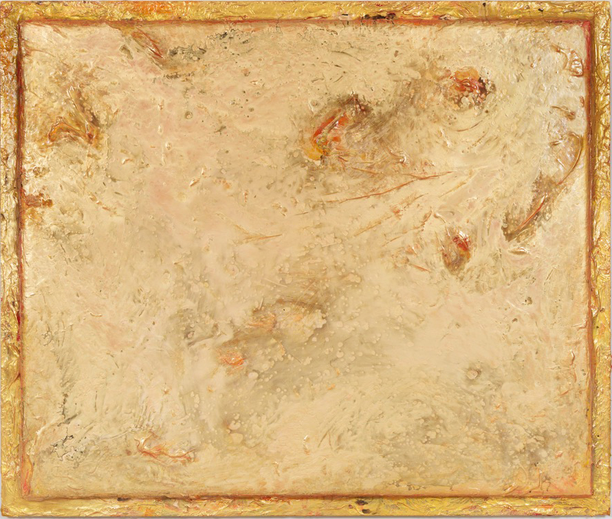 "Awash in Gold, 78"" x 66"", 2016"