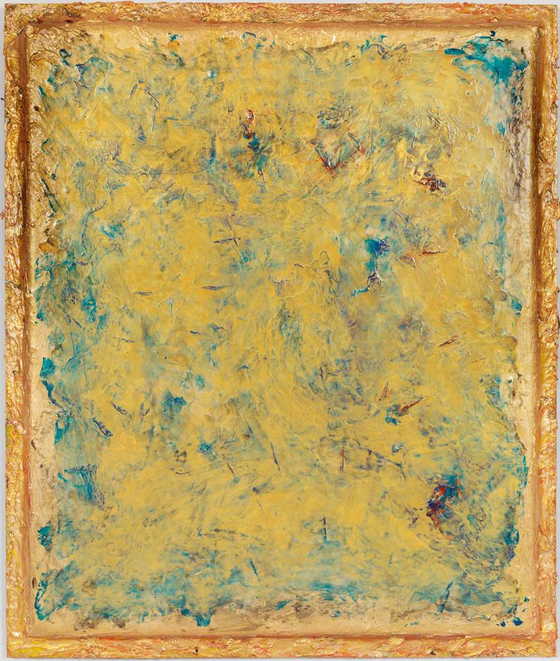 "Symphony in Blue, 78"" x 66"", 2016"