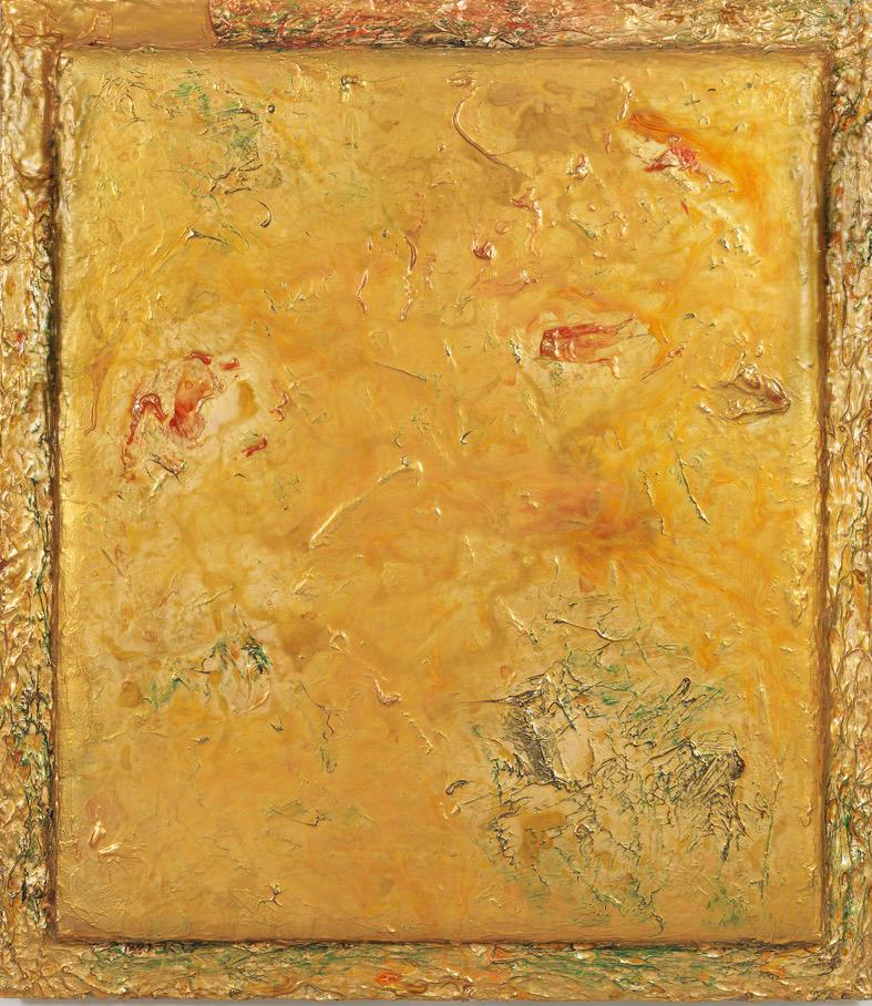 "Turbulence Series - A Sunny Day, 48"" x 42"", 2015"