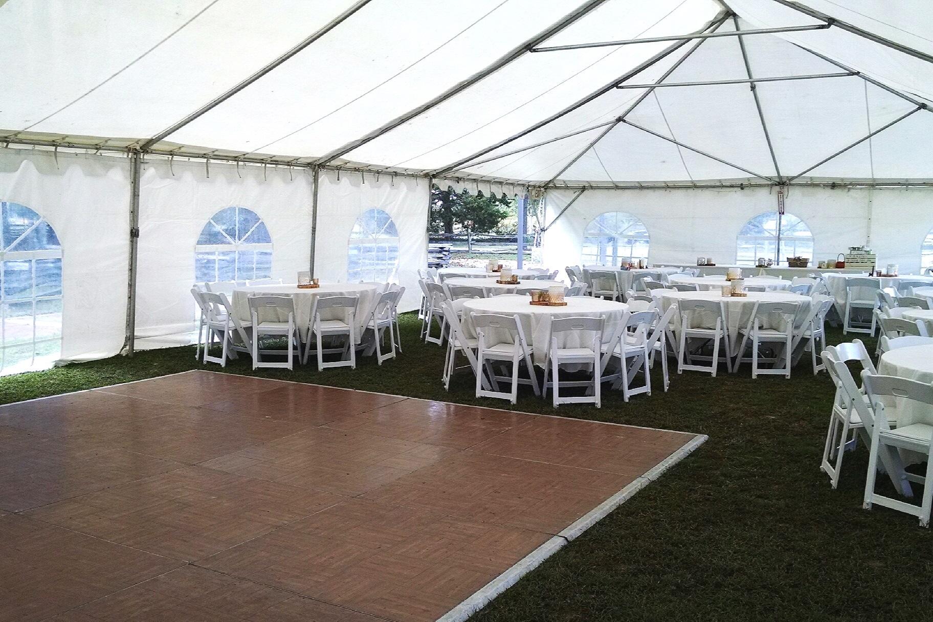 30 X 60 Frame Tent - Historic Polegreen