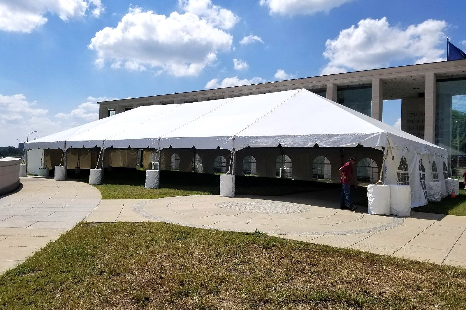 40 X 85 Frame Tent - Virginia War Memorial