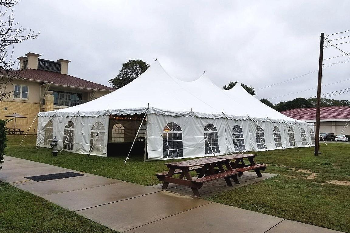 40 X 80 Pole Tent - New Community School