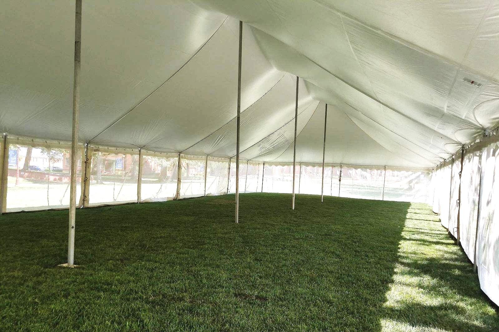 40 X 100 Pole Tent - Union Presbyterian