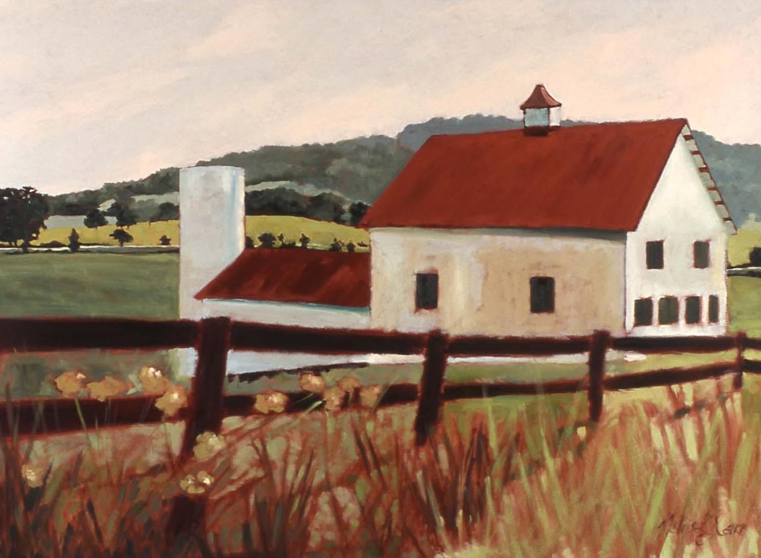 """Blue Ridge Barn"" - SOLD"