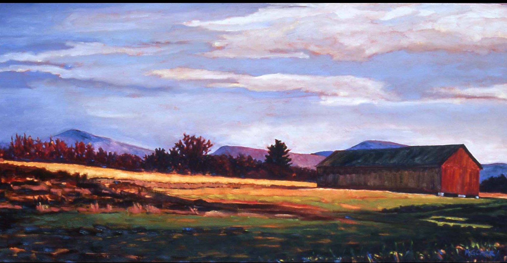 """View Towards the Peaks"" - SOLD"