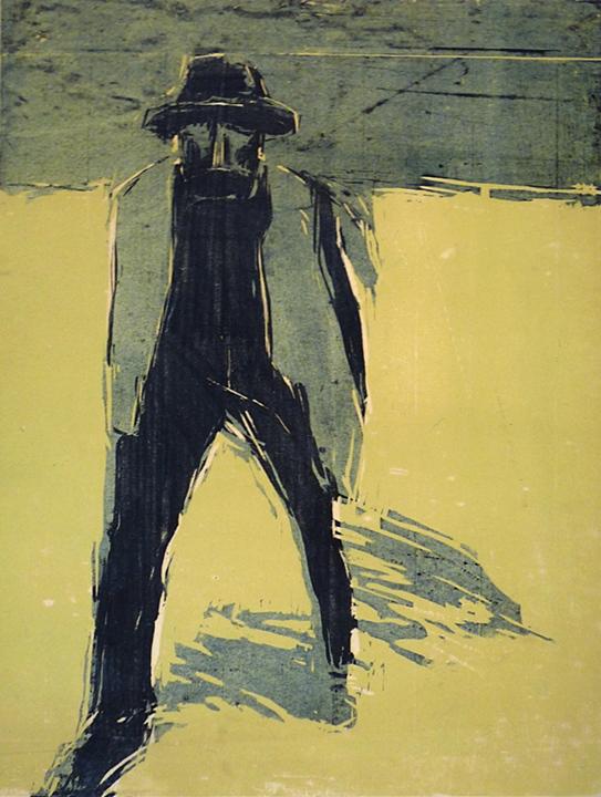 Figure Marching Forward (1962)