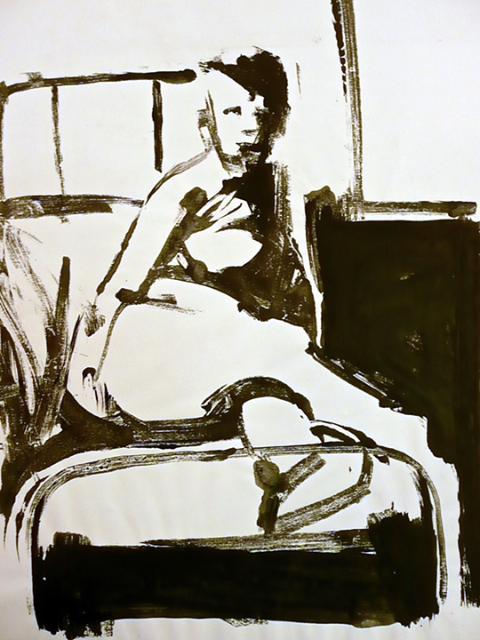 Figure in Bed (1963)