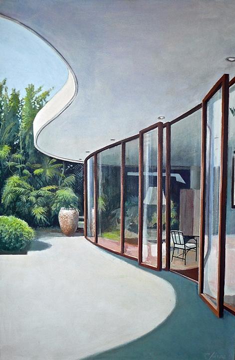 House on Cote de Sur by Niemeyer (2004)