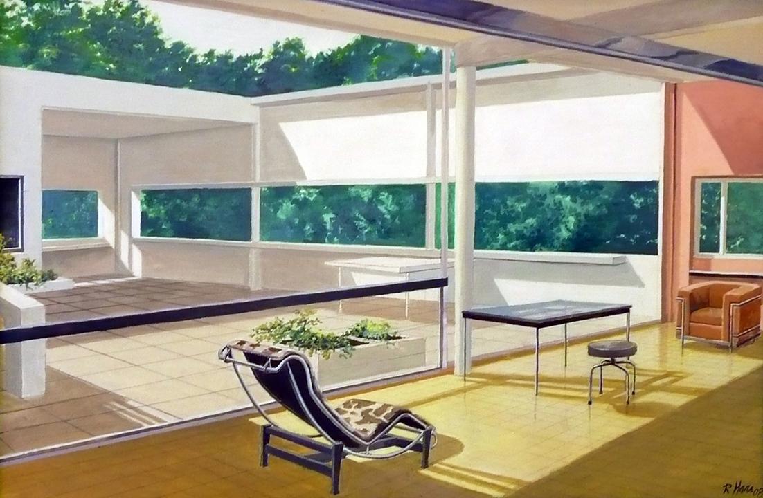 Villa Savoy by Le Corbusier (2004)