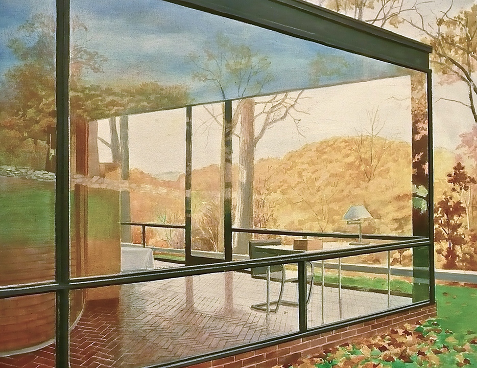 Glass House by P. Johnson (2009)