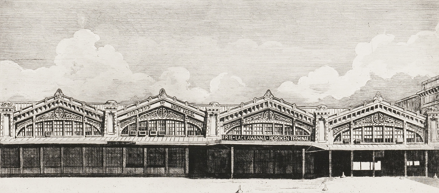 Eerie Lackawanna Hoboken Terminal (1973)