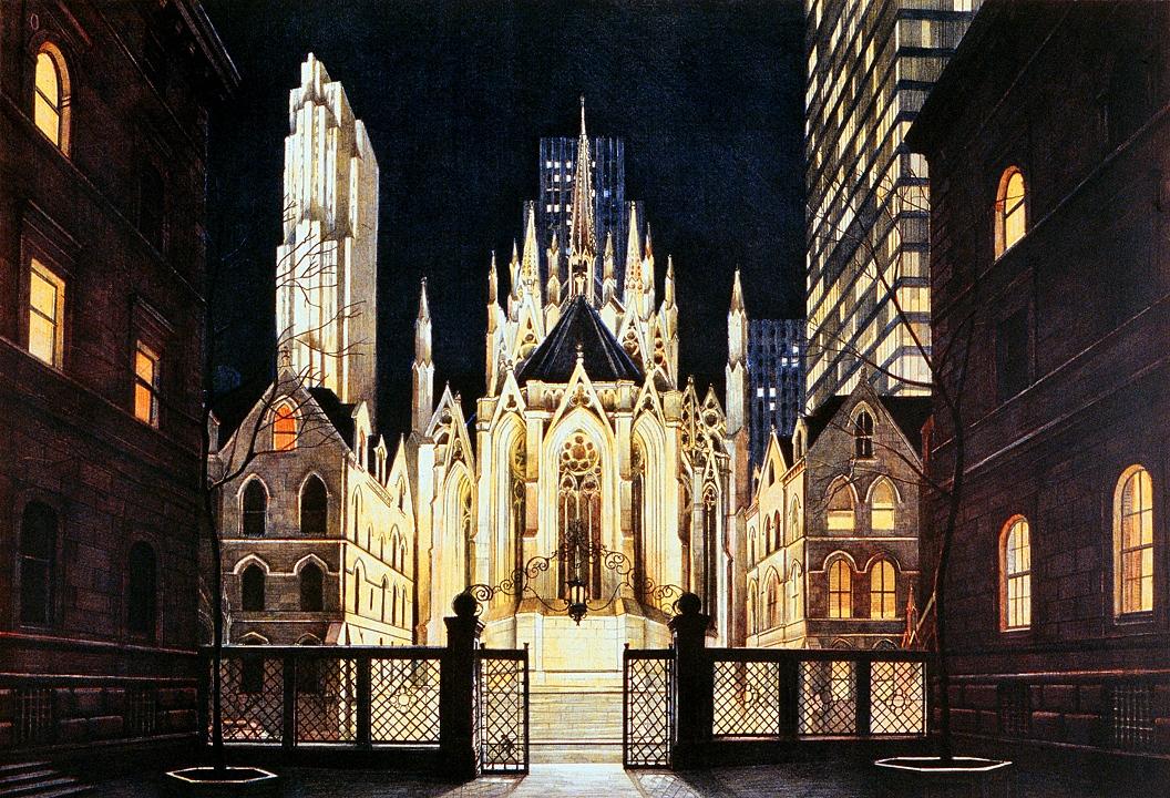 Villard Courtyard, St. Patrick's Cathedral (1983)