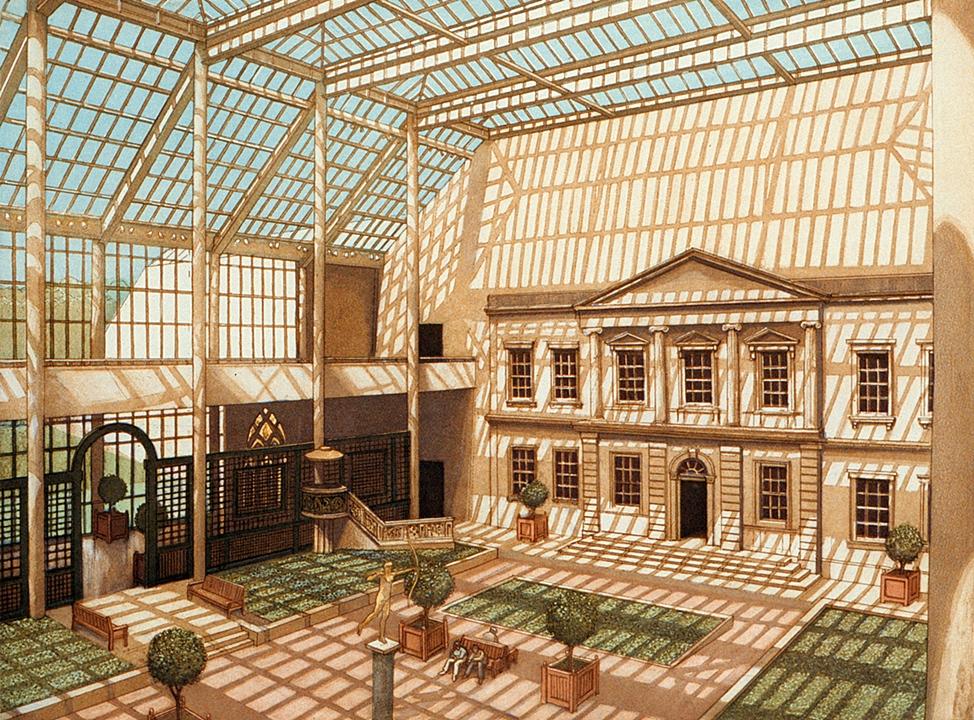 Engelhard Courtyard, Metropolitan Museum (1991)