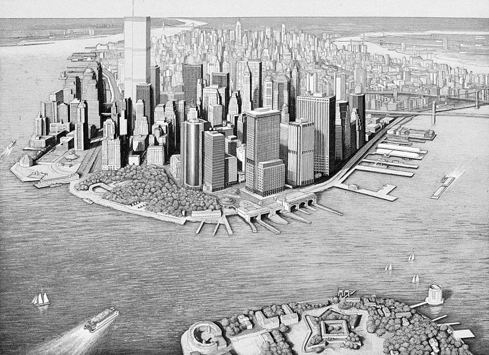 Manhattan View, Governor's Island (1999)