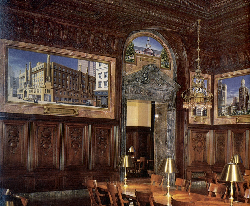The DeWitt Wallace Periodical Room at the New York Public Library - 42nd Street New York, NY. (1982)