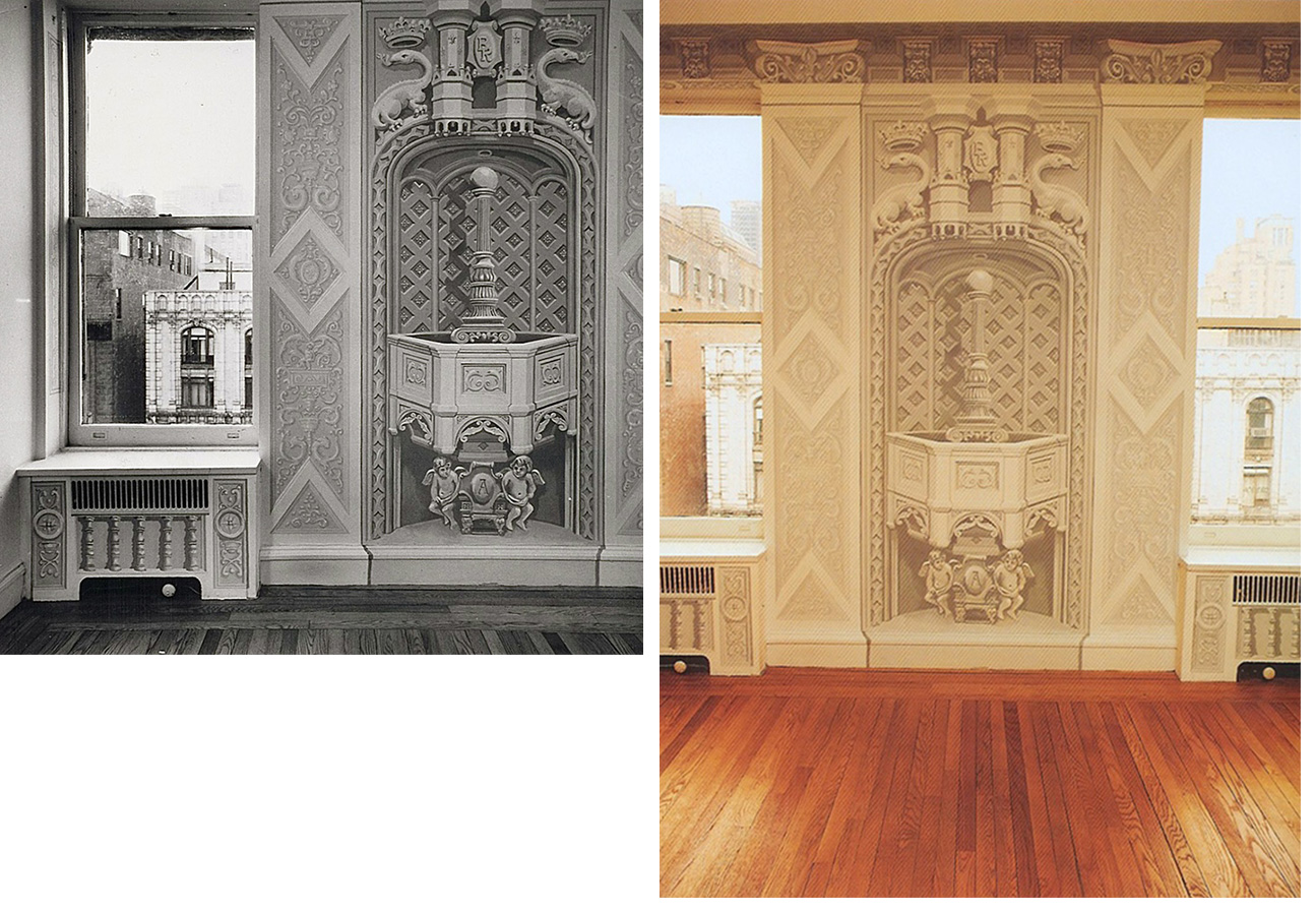 Blackwood Rosen Apartment, Alwyn Court New York, NY. (1977)