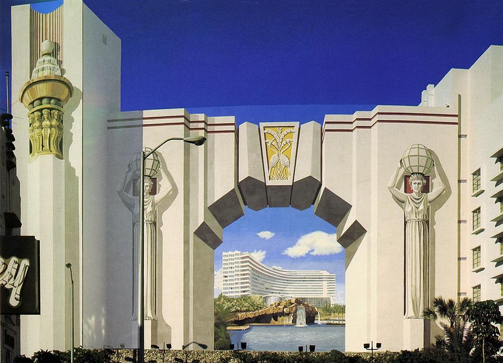 Fountainebleau Hotel Miami Beach, FL (1985-86 destroyed)