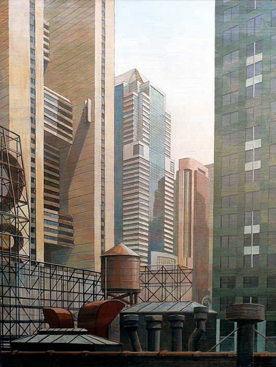 Times Square Rooftops (1997)