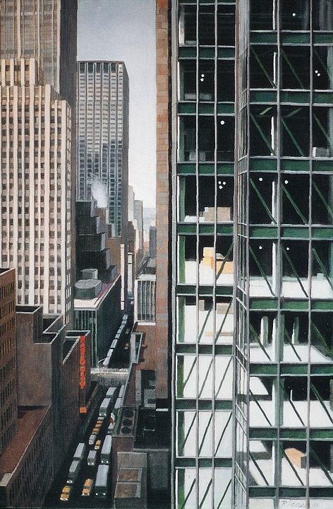W 51st Street from 5th Avenue (2004)