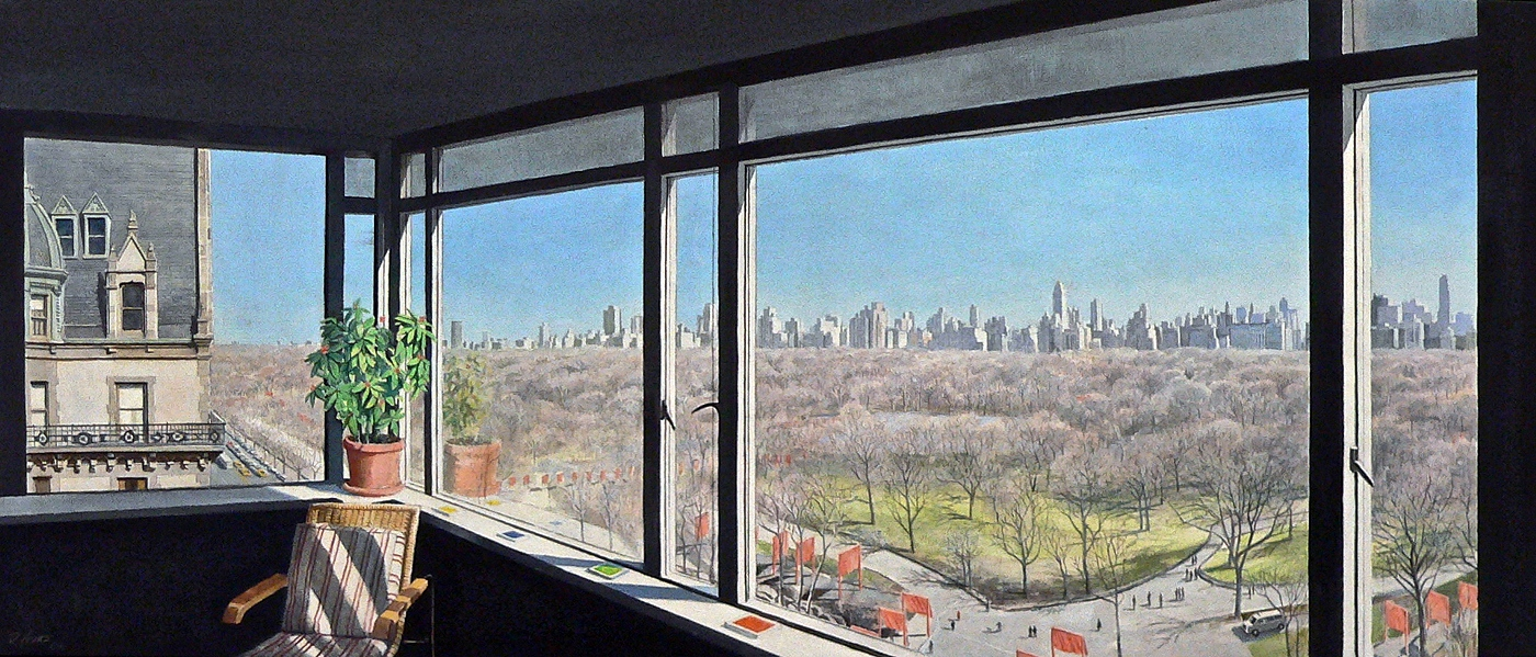 View of Central Park West and the Gates (2006)