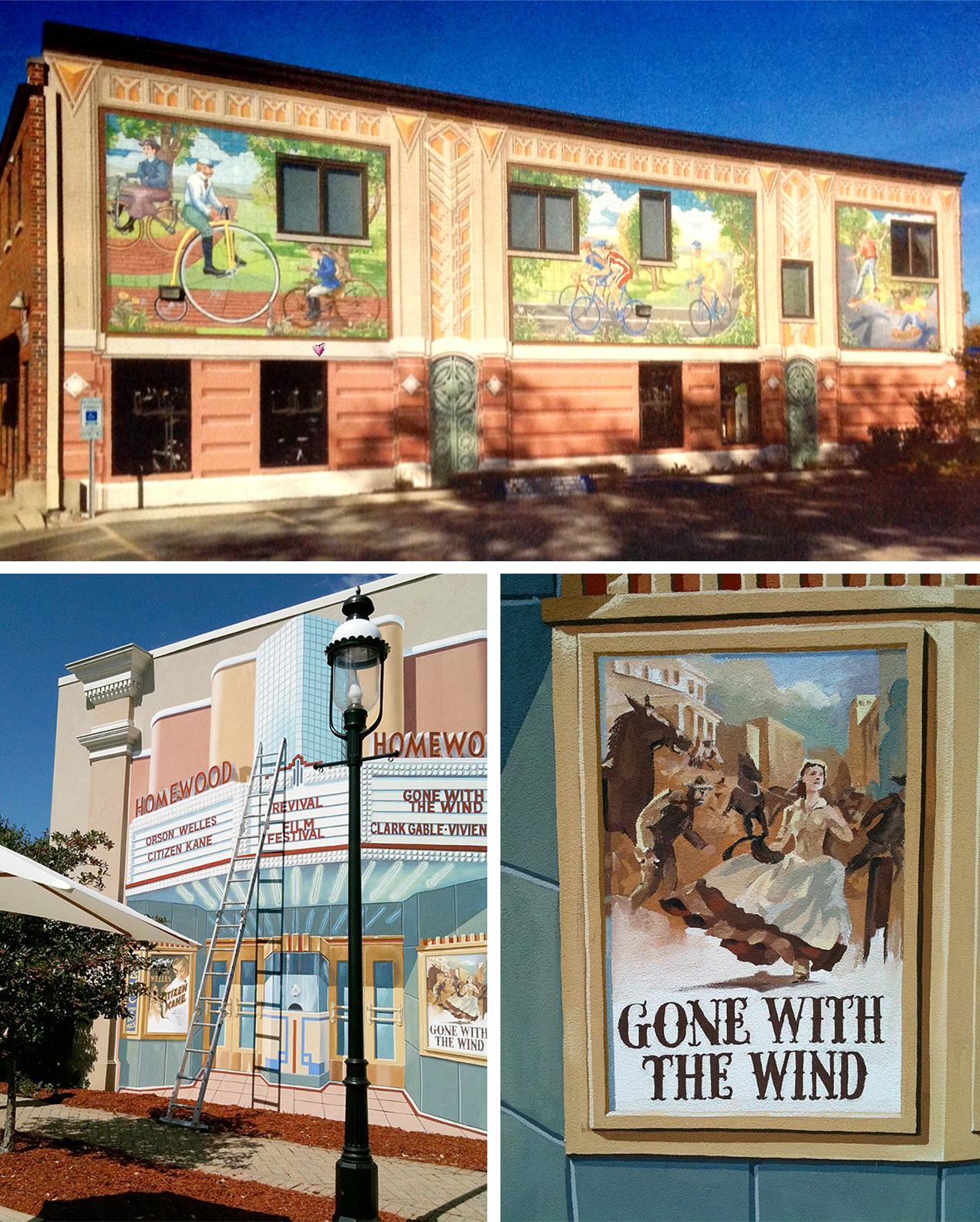 Homewood Business District Homewood, IL.  (1983-2014)