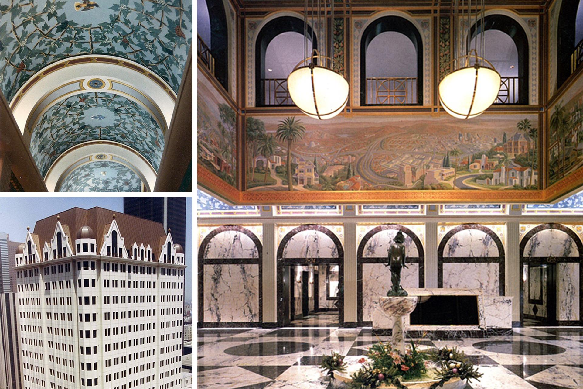 Sky Lobby, Home Savings of America Tower Los Angeles, CA. (1988)