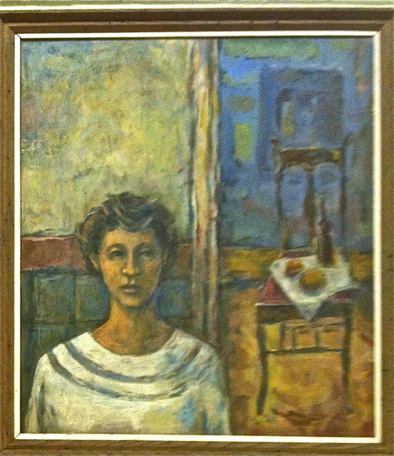 Painting of Rosie 1956