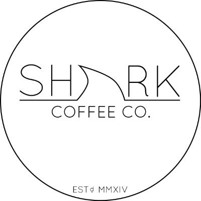 Shark Coffee Co. Label