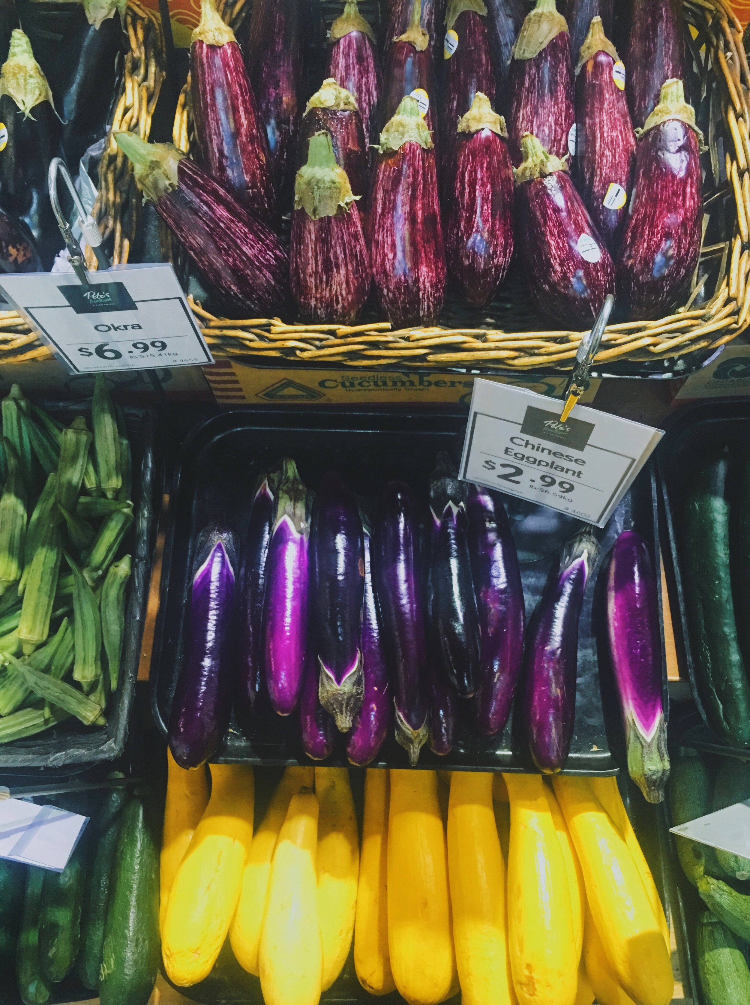 April 5th - Colourful vegetables