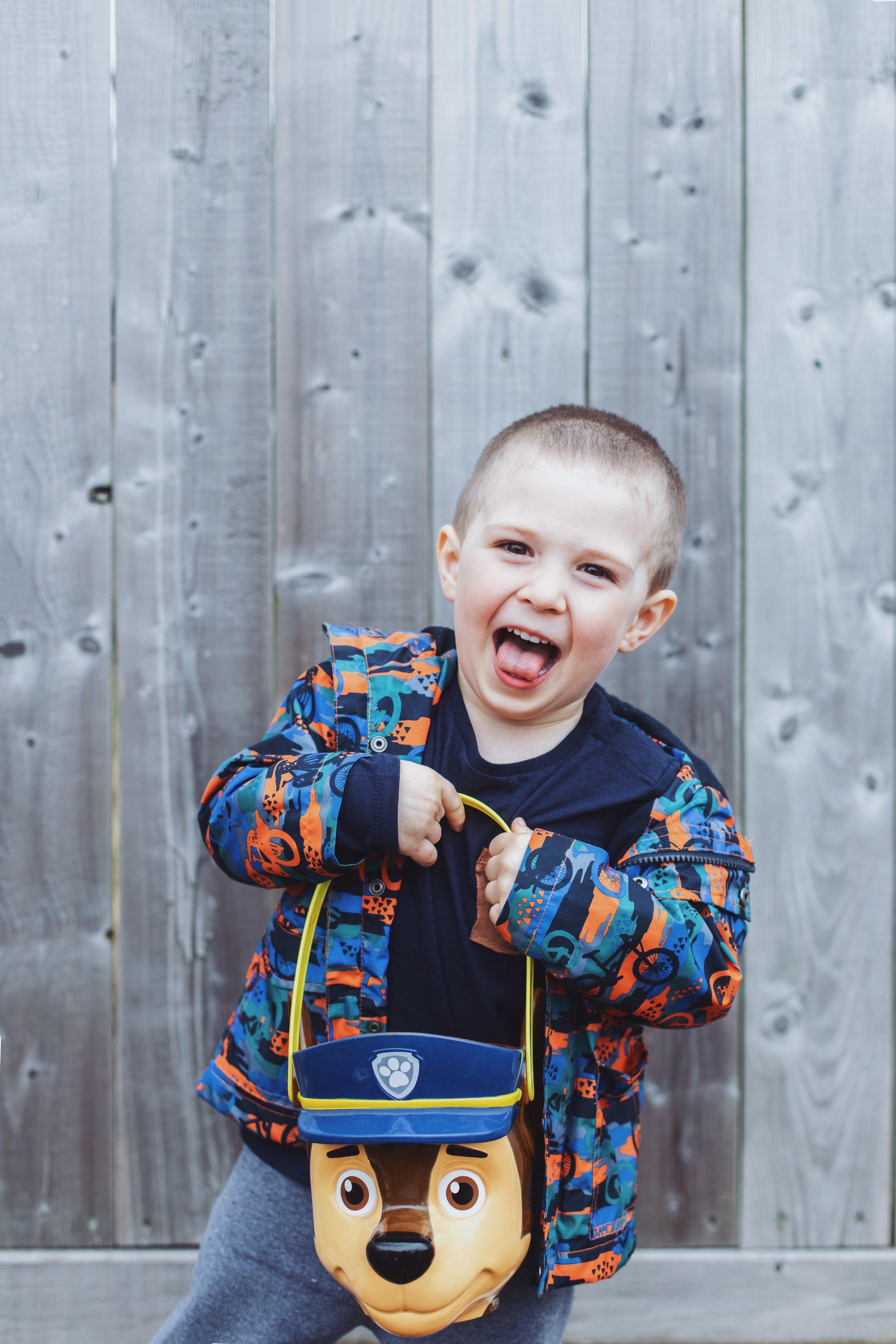April 21st - My awesome nephew, Hugh