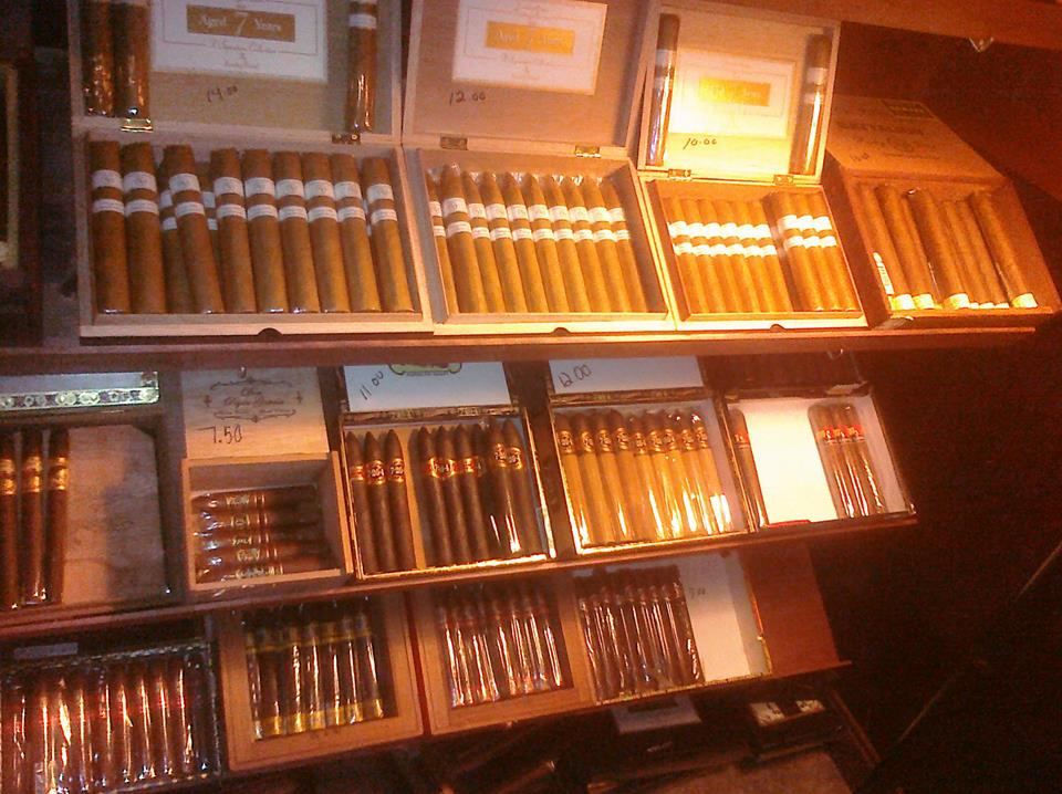 Michael's Cigar Bar features hundreds of blends and dozens of brands of top-quality, hand-rolled cigars.
