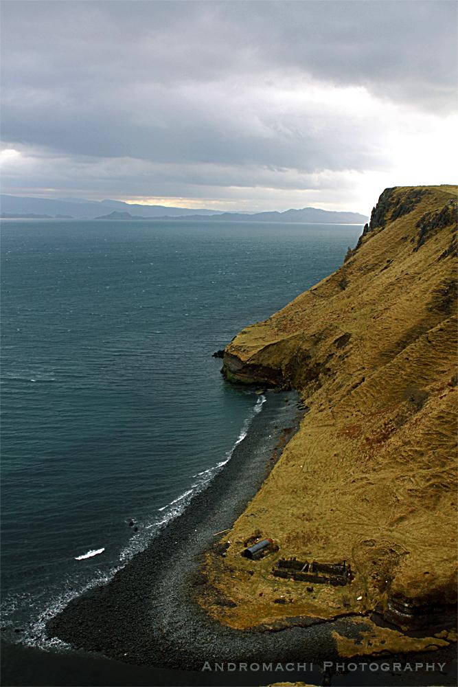 beach in the Highlands, Scotland