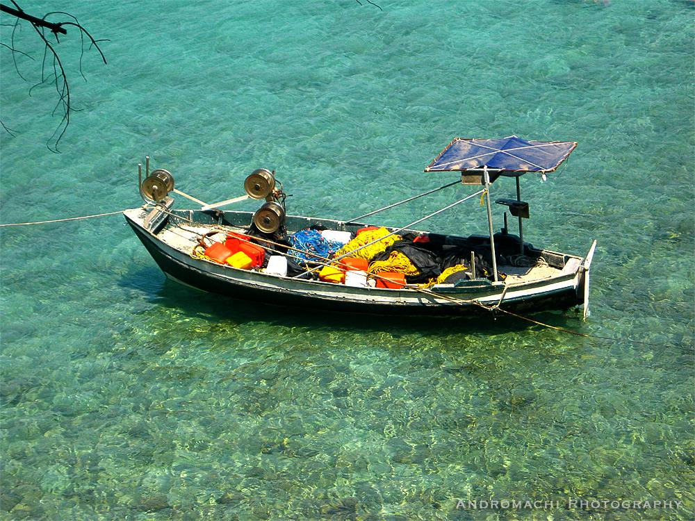 fisherman's break, Lefkada, Greece