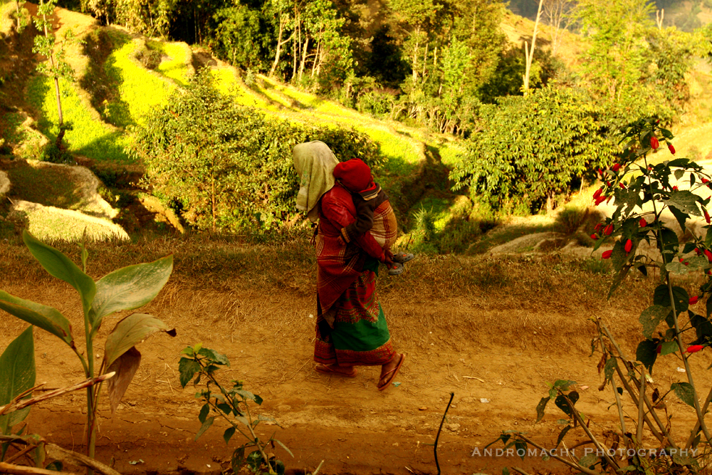 no other foreigner has visited this village before,a totally different world, Nepal