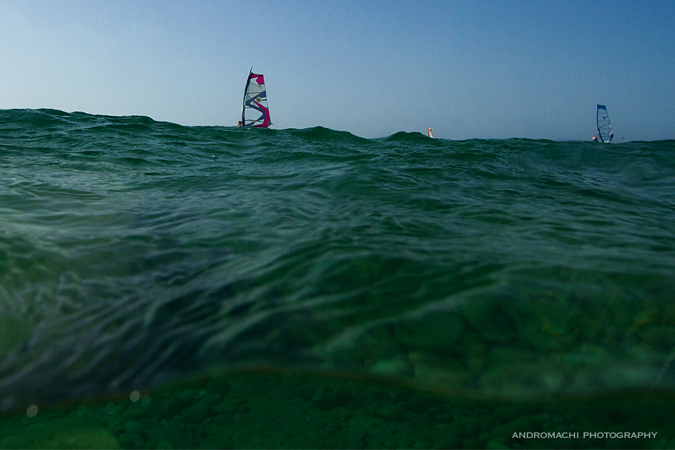 l    et the sea set you free,  Agios Ioannis, windsurf and kitesurf spot, Lefkada, Greece